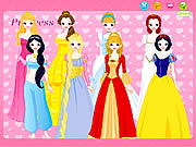 clique para juegos Disney Princess Dress up