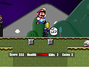 clique para juegos Super Mario Flash Halloween Version