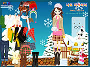 clique para juegos Winter Dress Up