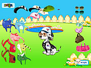 clique para juegos Doggy Dress up