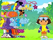 clique para juegos Dora the Explorer Dress Up