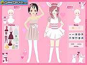 clique para juegos Love Bunnies Dress Up