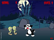 clique para juegos Attack of the Tweety Zombies