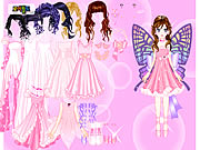 clique para juegos Pink Butterfly Dress up