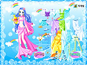 clique para juegos Aquarius Zodiac Dress up
