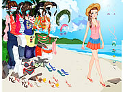 clique para juegos Thailand Beach Dress up