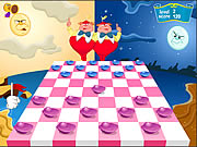 clique para juegos Checkers of Alice in Wonderland