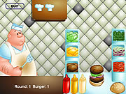 clique para juegos The Great Burger Builder