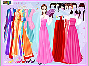 clique para juegos Gown and Robe Dressup