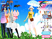 clique para juegos Rainy Days Dress Up