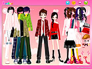 clique para juegos Couple Shopping Dress Up