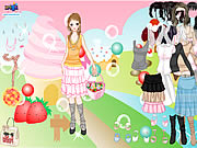 clique para juegos Candy Land Dress Up