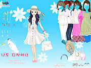 clique para juegos Spring Hats Dress Up