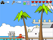 clique para juegos Castle Cat 2 - The Miami Invasion