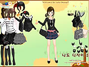 clique para juegos Black Fashion Dress Up