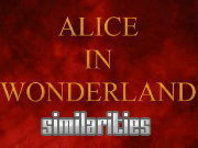 clique para juegos Alice in Wonderland Similarities
