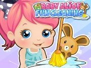 clique para juegos Baby Alice Party Clean Up