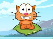 clique para juegos Cat around the world - Alpine Lakes