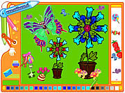 clique para juegos Coloring Picture Butterfly