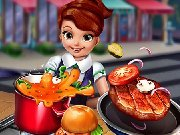 clique para juegos Cooking Fast: Hotdogs and burgers Craze