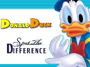 clique para juegos Donald Duck Spot the Difference
