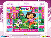 clique para juegos Dora The Explorer Mix-Up