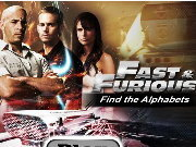 clique para juegos Fast and Furious Find the Alphabets