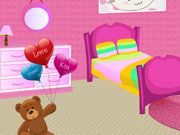 clique para juegos Girly Room Decor