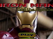 clique para juegos Iron Man Find the Alphabets