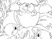 clique para juegos Kid's coloring: A little surprise for You