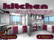 clique para juegos Kitchen Find the Alphabets