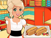 clique para juegos Mia Cooking Chili Cheese Hot Dogs