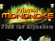 clique para juegos Princess Mononoke Find the Alphabets