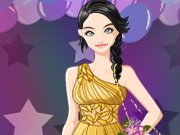 clique para juegos Prom Queen Dress up game
