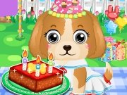 clique para juegos Puppy Birthday Party