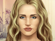 clique para juegos Rosie Huntington Make-up