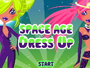 clique para juegos Space Age Dress Up