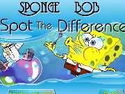 clique para juegos Sponge Bob - Spot The Difference