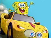 clique para juegos Spongebob Speed Car Racing