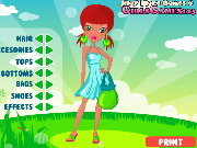 clique para juegos Sweet Summer Dress Up