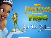 clique para juegos The Princess and the Frog Spot the Difference