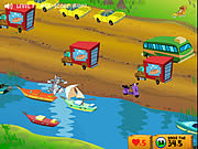clique para juegos Tom And Jerry - Cat Crossing