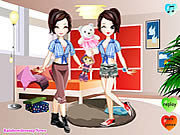 clique para juegos Twins Dress Up