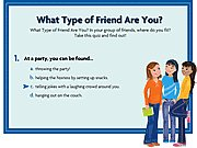 clique para juegos What Type of Friend are You?